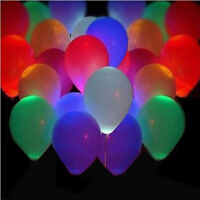 Colorful LED Lamp Lights Balloons Lantern Balloon Wedding Birthday Party Decor