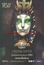 Allods Online Undaunted 2012 Magazine Advert #7183