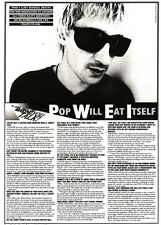 11/3/95PGN20 ARTICLE & PICTURES : CLINT MANSELL & POP WILL EAT ITSELF