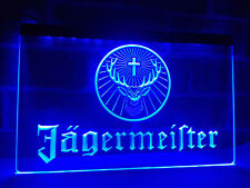 Jagermeister LED Neon Light Sign Bar Club Pub Advertise Decor Hang Home Gift Set