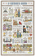 Cross Stitch Kit ~ Janlynn Virtuous Woman Sampler Proverbs Bible #021-1401