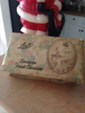 VINTAGE Lofts Directoire French Chocolate Box Antique Advertising