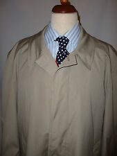 SWALLOW  VINTAGE  BRITISH MADE TRENCH/RAIN COAT SIZE UK  44    1960,S
