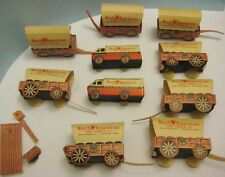 10 Paper Advertising Western Wagons / Premiums Nabisco & N. American Van Lines