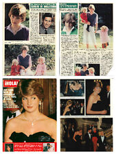 Princess Diana - magazine articles & clippings collection - Hola 1981 & 1982