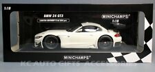 Minichamps 151122300 BMW Z4 GT3 2012 Street Version White 1:18 Scale Car