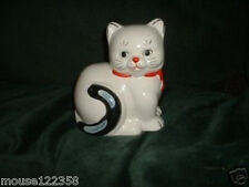 White Cat Piggy Bank   Kitty Cat