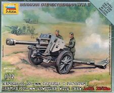 Zvezda 1/72 Figures German 105mm Howitzer LeFH 18/18M with Crew Z6121