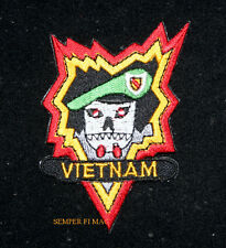 MACV SOG PATCH Military Assistance Command VIETNAM US ARMY PIN UP SPECIAL FORCES