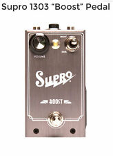 NEW SUPRO BOOST EFFECTS PEDAL w/ FREE CABLE FREE US SHIPPING
