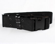 Heavy Duty US Army Military Surplus Pistol Web Utility Outer Belt/Individual BK