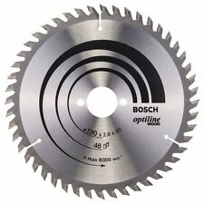 Bosch Optiline Wood Circular Saw Blade 190x30x48 2608640617