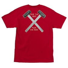 Independent Trucks HAMMERS POCKET Skateboard Shirt RED XL