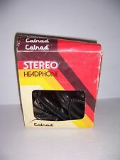 Vintage Calrad 15-135A Stereo Headphones with box