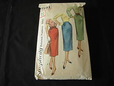 Vintage Misses Skirt Pattern Waist 26 Simplicity #2191 Early 1950's