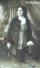 c1915 Oper Strauss Rosenkavalier Arndt-Ober Margarethe Signierte Autogrammkarte
