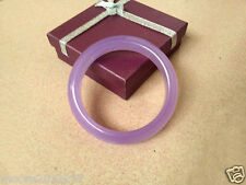 genuine top fashion beautiful natural Purple violets Jade Bangle bracelet