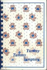 *LINCOLN MI 1990 ALCONA COMMUNITY HIGH SCHOOL COOK BOOK *YUMMY TUMMY TEMPTERS