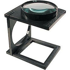 5X GIANT LINEN MAGNIFIER MAGNIFYING GLASS STAND DESK 4""