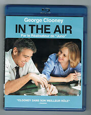 IN THE AIR - GEORGE CLOONEY - JASON REITMAN - 2010 - BLU-RAY PARFAIT ÉTAT