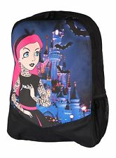 TATTOO PRINCESS ALTERNATIVE DISNEY GENUINE DARKSIDE RUCKSACK LAPTOP BAG BACKPACK
