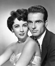 MONTGOMERY CLIFT ELIZABETH TAYLOR 8x10 PHOTO PICTURE IMAGE