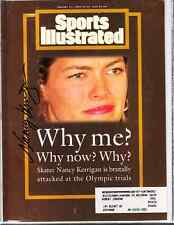Nancy Kerrigan Olympic Figure Skating Autographed Signed Sports Illustrated
