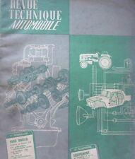 Revue technique FORD ANGLIA PREFECT CONSUL 315 TA 192 1962 EMBRAYAGE AUTOMATIQUE