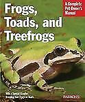 Frogs, Toads, and Treefrogs (Barron's Complete Pet Owner's Manuals)-ExLibrary