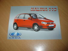 FEUILLET Lada Kalina 119 de 2004