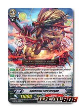 Cardfight Vanguard  x 4 Spherical Lord Dragon - G-BT07/031EN - R Mint