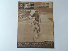*Rare Vintage 1940s 'MIROIR-SPRINT' - French Cycling Magazine - 5th July 1948*