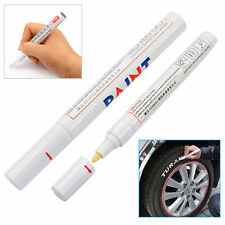 Universal DIY Permanent Car Motorcycle Tyre Rubber Paint Tire Marker White