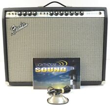 1970's Fender Twin Reverb Silverface Guitar Amplifier- Non Master w/Oxford Spkrs