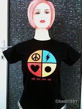 POWER HIP HOP SKATE Skater Camiseta T-Shirt S Love Paz