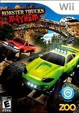 Nintendo Wii Game MONSTER TRUCKS MAYHEM - Brand New/Unopened!