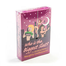 WHOS THE BIGGEST SLUT - NOVELTY NAUGHTY FUN ADULTS BOARD GAME - HENS NIGHT