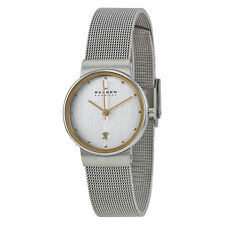 Skagen Classic Stainless Steel Mesh Ladies Watch 355SGSC