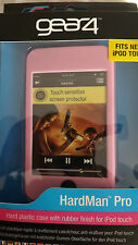 iPod Touch 2nd Generation Gear4 Hard Plastic Soft Rubber Finish Hardman Pro PINK