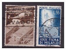 FIERA  DI MILANO  1951 -   SERIE  USATA