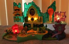 2001 Wizard of Oz Polly Pocket Light Up Playset Working - No Figures