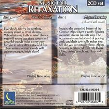 Various Artists : Music for Relaxation: Wind Chimes & Alpine (2CDs) (2000)
