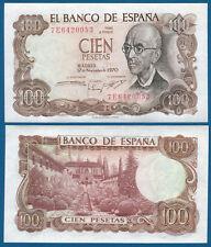 SPANIEN / SPAIN 100 Pesetas 1970 UNC  P.152