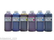 6x500ml dye refill ink for Epson 77 78 Stylus Photo R260 R280 R380 Artisan 50