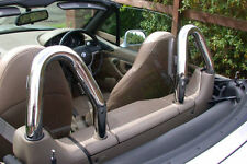 Most Awesome Chrome Roll Hoop BMW Z3 Windscreen Wind Deflector; #1 Rated
