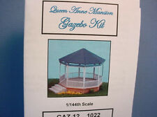Dollhouse MiniatureQueen Anne Mansion Gazebo Kit GAZ12