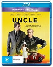 The Man From U.N.C.L.E UNCLE : NEW Blu-Ray