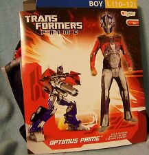 L 10-12 Transformers Prime Costume Disguise Childs Kid Boy Pretend Halloween NWT