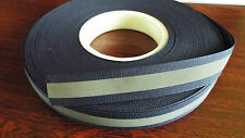 1m -  Sew on - 20mm Visibility, Reflective Tape  - Navy Blue