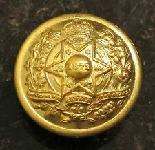 GOVERNOR GENERAL's FOOT GUARDS CANADA - K.C. 1901-1952 - LARGE BRASS BUTTON